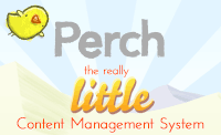 This site runs on Perch - the really little CMS